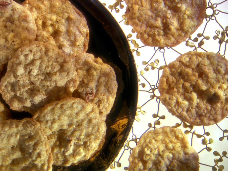 Ginger Orange Oatmeal Cookies