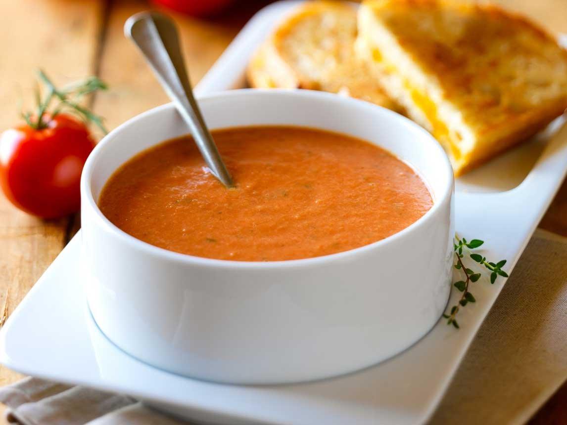 Healthy, Creamy Tomato Soup