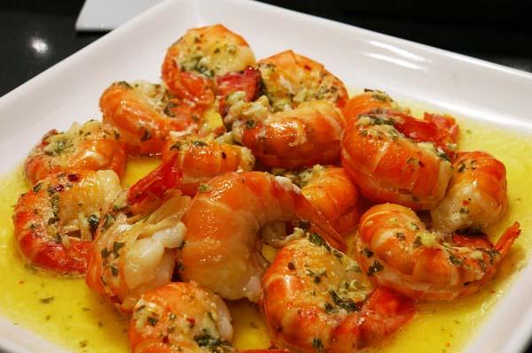 Lemon Garlic Shrimp and Vegetables